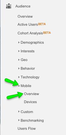 Google Analytics Mobile Overview