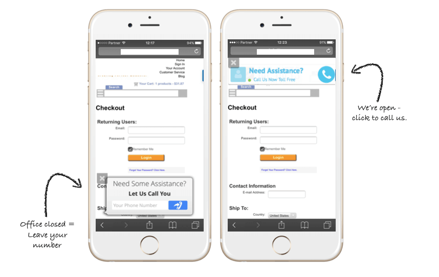 Mobile checkout optimization